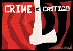 Crime e Castigo, livro, sociedade, convivência, leis, indivíduo, filosofia, reflexão.
