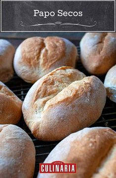 These traditional Portuguese rolls are the perfect buns for making bifanas or stuffing with your favorite sandwich fillings. #portuguese #rolls #bread #baking Portuguese Rolls Recipe, Portuguese Sweet Bread, Portuguese Recipes, Portuguese Food, Portuguese Wedding, Bread Maker Recipes, Bakery Recipes, Raw Food Recipes, Cooking Recipes