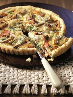 Pizza Tarts, Greek Recipes, Quiche, Food Porn, Sweet Home, Food And Drink, Cooking Recipes, Sweets, Baking