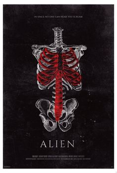 Two Brilliant 'Alien' Fan Posters Take Us Inside the Human Body