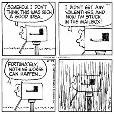 First Appearance: February Snoopy Cartoon, Snoopy Comics, Funny Comics, Charlie Brown, Snoopy Valentine, Love Valentines, Funny Mailboxes, Joe Cool, Snoopy Love