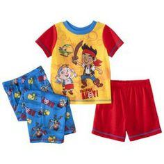 Disney® Jake and the Neverland Pirates Toddler Boys' 3-Piece Short-Sleeve Pajama Set