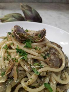 Spaghetti+alle+vongole+e+carciofi