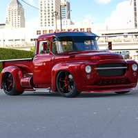Pickup from olad Soviet Truck ZIL-130. Steampunk and stance versions