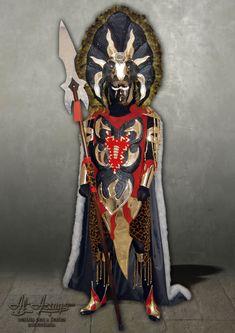 Traje de estilo africano en alquiler Samurai, Art, African Style, African, Warriors, Suits, Art Background, Kunst, Performing Arts