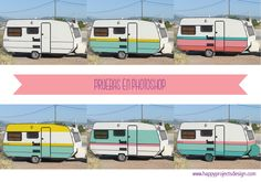 pruebas para la happy caravan by www.happyprojectsdesign.com