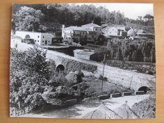 GALICIA GRAN FOTOGRAFIA ORIGINAL PAZOPONTE MACEIRA - NEGREIRA APROX 1955/60 30X24cm | Antigüedades Almoneda Vigo
