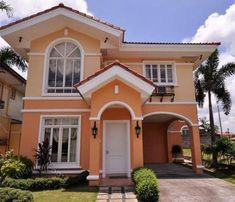 28 ideas exterior paint colora florida house plans for 2019 House Painting Colour Combinations, House Paint Color Combination, Color Combinations, Best House Paint Colors, Exterior Paint Colors For House, Exterior Colors, Style At Home, Farm House Images, Philippines House Design