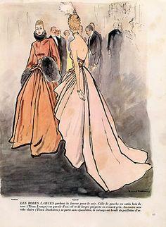 ... 1947 evening gown worth bernard blossac by bernard blossac hprints com