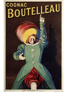 Cognac Boutelleau Giclee Fine Art Print
