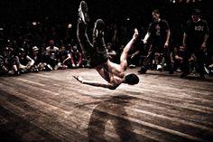 breakdancing >