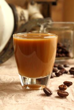 Cucina Rustica - A Casa Cucina: Liquore al caffè Crema