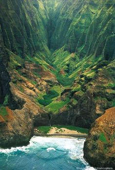 The real thing is so much more spectaular than the photos!  The view of Kauai from the air is indescribable!
