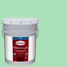 Glidden Premium 5 gal. #HDGG54D Jacob's Jade Satin Interior Paint with Primer