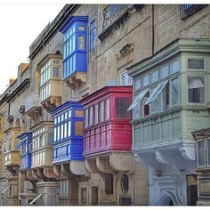 L'architecture si caractéristiques des maisons Maltaises