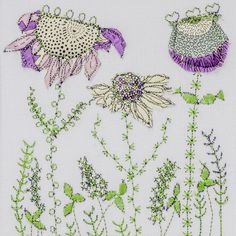 Colourful applique and free-machine embroidery. By Bev Holmes-Wright @ www.stitchingforthesoul.co.uk