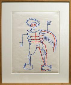 Basquiat drawings | Jean-Michel Basquiat, Untitled, 1981