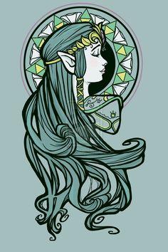 Zelda Nouveau by *khallion on deviantART