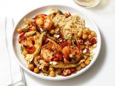 Greek Shrimp and Couscous