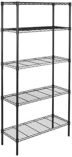 Super Easy To Use 5-Shelf Shelving Unit For Heavy Duty