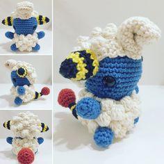 Voltilamm/ Mareep häkeln/ crochet
