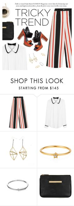 """""""Tricky Trend: Daytime Pajamas"""" by thepommier ❤ liked on Polyvore featuring Dolce&Gabbana, Tara Jarmon, Mikinora and Mei-Li Rose"""