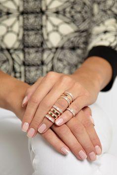 Repossi | Berbère 18-karat rose gold diamond phalanx ring