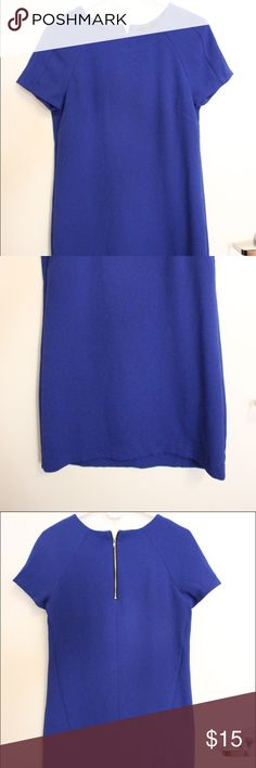 Electric blue dress Worn once. Great color Forever 21 Dresses Midi