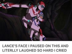 Keith is like: I'll protect you Lance and Lance is like: My savior.
