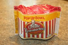 Orville Redenbacher Popcorrn  Thanks for the great giveaway Busy at Home!