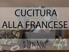 cucitura alla francese (french seam) per rifiniture interne pulite Sewing Stitches By Hand, Knitting Stitches, Sewing Hacks, Sewing Tutorials, Sewing Patterns, Sewing Ideas, Flat Felled Seam, Make Your Own Clothes, French Seam
