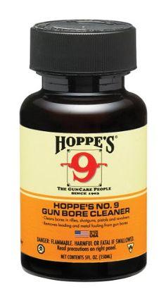 Hoppe's No. 9 Gun Bore Cleaning Solvent, 5-Ounce Bottle Hoppe's http://www.amazon.com/dp/B0010KHNEU/ref=cm_sw_r_pi_dp_WKGfub0S74EVB