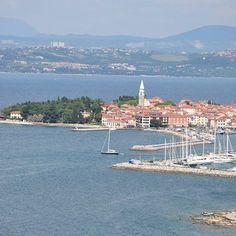 Wunderschönes #Izola auf der Halbinsel #Istrien in #Slowenien #Segeln #Segelurlaub #Yachthafen #Sommerurlaub