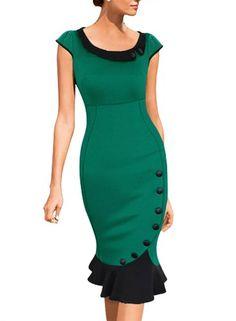 Miusol Women's Scoop Neck Contrast Vintage Bridesmaid Cocktail Dress https://www.amazon.com/gp/product/B00PILY8V8/ref=as_li_qf_sp_asin_il_tl?ie=UTF8&tag=rockaclothsto-20&camp=1789&creative=9325&linkCode=as2&creativeASIN=B00PILY8V8&linkId=fcfea9d1e4b9e4e1a1575848e8dc19df