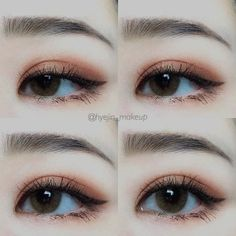 Korean makeup tips - You can improve the look of your eyebrows overnight. This makes your eyebrows look shiny and. Be certain to never get vaseline on every other element of your face, because it can result in unwelcome breakouts of pimples. Korean Makeup Tips, Korean Makeup Look, Korean Makeup Tutorials, Asian Makeup, Makeup Inspo, Beauty Makeup, Hair Makeup, Makeup Hacks, Real Beauty