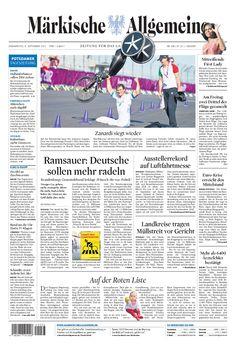 Donnerstag, 6. September 2012