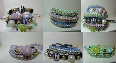 Glamourets: Tá na moda: Pulseiras coloridas, brilhantes, a ordem é usar muitas!