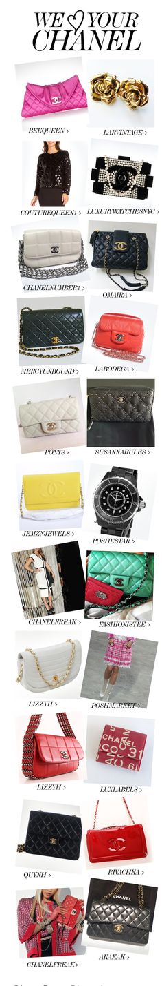 WE LOVE YOUR CHANEL!