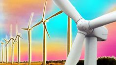 With so much talk about climate change a lot of pollies and scientists are looking for ways of getting power without burning up fossil fuels. One of these alternative energy sources is wind power. It's renewable, and a lot cleaner than coal. But it does have its critics. So why are people opposed to something that might help save the planet? Sarah looks for the answer.