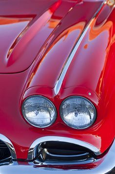 1962 Chevrolet Corvette Headlight Photograph by Jill Reger - 1962 Chevrolet Corvette Headlight Fine Art Prints and Posters for Sale