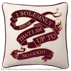 HARRY POTTER™ Marauder's Map Pillow Cover
