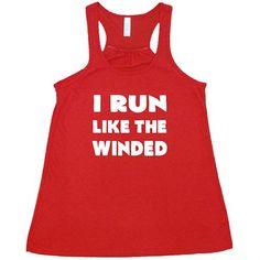 I Run Like The Winded Shirt