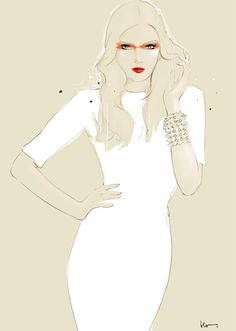 Floyd Grey Fashion Illustration