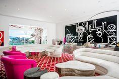 Retro Vibes - See Gwen Stefani's $35 Million Eclectic Rockstar Home - Photos