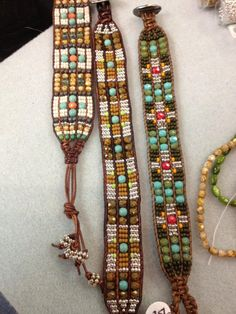 www.islandbeadandjewelry.com  Learn to make these or let us make one for you! $100 and up
