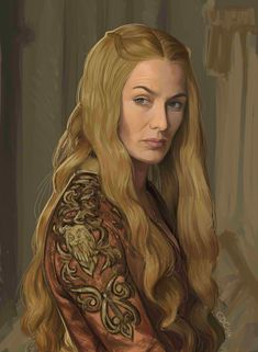 Cersei Lannister - Game of Thrones - Giando1611990.deviantart.com