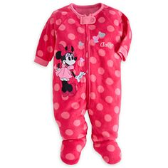 718ccc074d Minnie Mouse Blanket Sleeper for Baby - Personalizable