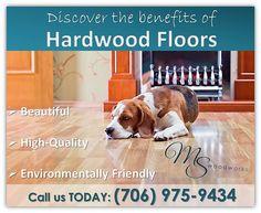 The benefits of hardwood floors!