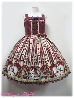 Angelic Pretty Wonder Queen Bustier-Style JSK