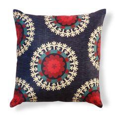 suzani inspired pillow